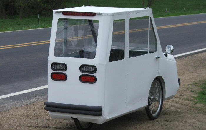 Liberty Velomobile - SUV